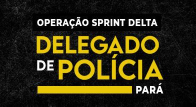 Operação Sprint Delta | Delegado de Polícia Civil do PARÁ