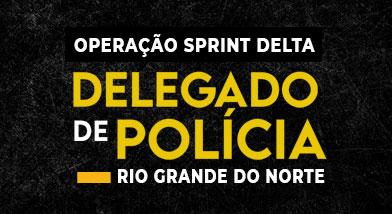 Operação Sprint Delta | Delegado de Polícia Civil do RIO GRANDE DO NORTE