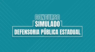 Concurso Simulado Defensoria Pública Estadual