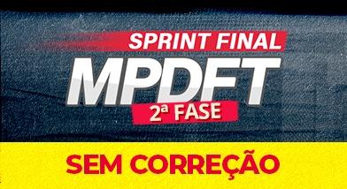Sprint Final MPDFT 2ªFase (Sem Correção)